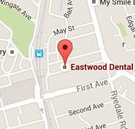 Location map Eastwood Dental